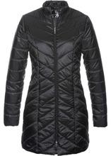 Bonprix | Куртка длинная стеганая (черный) | Clouty
