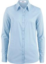 Bonprix | Блузка-рубашка с длинными рукавами (синий) | Clouty