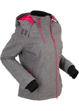 Bonprix | Куртка для активного отдыха (шиферно-серый меланж) | Clouty