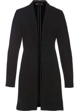 Bonprix | Пиджак удлиненного покроя (черный) | Clouty