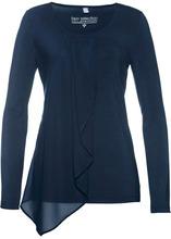 Bonprix | Блузка из трикотажа (темно-синий) | Clouty