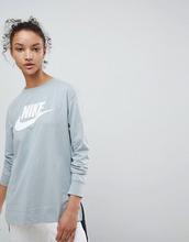 NIKE | Зеленый лонгслив Nike - Зеленый | Clouty