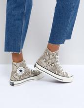CONVERSE | Высокие кроссовки с принтом под кожу змеи Converse Chuck Taylor All Star '70 - Мульти | Clouty