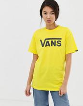 VANS | Классическая ярко-желтая футболка с логотипом Vans - Желтый | Clouty