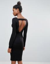 Vila | Платье-джемпер с открытой спиной Vila - Черный | Clouty