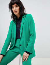 Ba&Sh | Приталенный блейзер BA&SH - Зеленый | Clouty