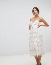 ASOS | Платье миди для выпускного с цветочной аппликацией ASOS EDITION | Clouty