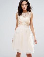Little Mistress   Кружевное платье для выпускного Little Mistress - Белый   Clouty