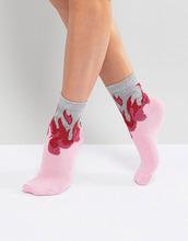ASOS | Розовые носки с блестками ASOS - Розовый | Clouty