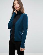 VERO MODA | Кардиган с V-образным вырезом Vero Moda - Темно-синий | Clouty