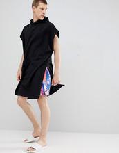ASOS | Черное полотенце с капюшоном ASOS DESIGN - Черный | Clouty