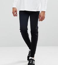 ASOS | Черные облегающие джоггеры с карманами на молнии ASOS TALL - Черный | Clouty