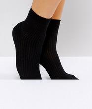 ASOS | Однотонные носки ASOS DESIGN - Черный | Clouty