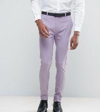 ASOS | Светло-фиолетовые супероблегающие брюки в строгом стиле ASOS TALL | Clouty