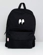 VANS | Рюкзак с принтом глаз Vans X Lazy Oaf - Черный | Clouty