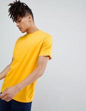 Weekday | Желтая футболка Weekday Аlan - Желтый | Clouty