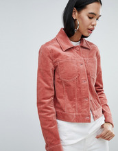 Weekday | Вельветовая куртка Weekday - Розовый | Clouty