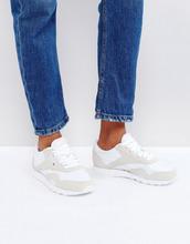 REEBOK | Классические бело-серые кроссовки Reebok - Мульти | Clouty