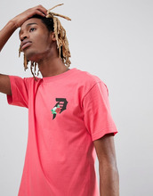 Primitive | Розовая футболка с логотипом Primitive - Розовый | Clouty