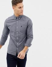 Selected Homme | Классическая оксфордская рубашка Selected Homme - Темно-синий | Clouty