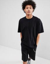 ASOS   Черная oversize-футболка ASOS DESIGN - Черный   Clouty
