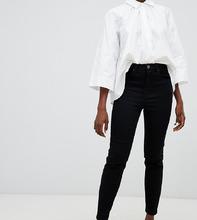 ASOS | Черные узкие джинсы в винтажном стиле с завышенной талией ASOS DESIGN | Clouty