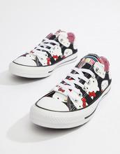 CONVERSE | Кроссовки Converse X Hello Kitty Ox - Черный | Clouty