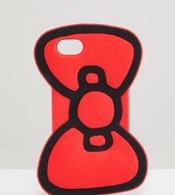ASOS | Чехол для iPhone 6/6S/7/8 с бантиком Hello Kitty x ASOS - Красный | Clouty