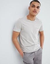 Selected Homme | Футболка из органического хлопка с карманом Selected Homme - Серый | Clouty
