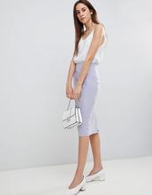 ASOS | Комбинируемая юбка-карандаш ASOS DESIGN - Серый | Clouty