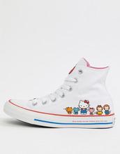CONVERSE | Высокие кроссовки Converse X Hello Kitty - Белый | Clouty