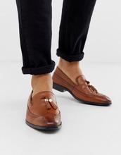 ASOS | Коричневые кожаные броги с кисточками ASOS DESIGN - Рыжий | Clouty