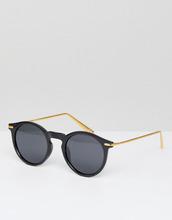 ASOS | Круглые солнцезащитные очки с поляризованными стеклами и металлическим | Clouty