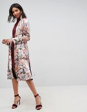 ASOS | Кимоно макси с цветочной вышивкой ASOS - Мульти | Clouty