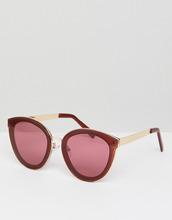 ASOS | Круглые солнцезащитные очки ASOS - Красный | Clouty