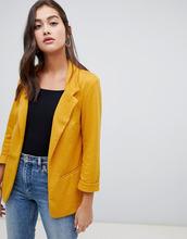 New Look | Желтый фактурный блейзер New Look - Желтый | Clouty