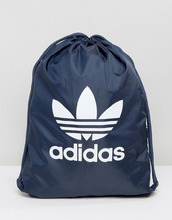 adidas Originals   Темно-синий рюкзак на шнурке adidas Originals BK6727 - Темно-синий   Clouty