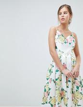 Chi Chi London | Платье миди для выпускного с крупным цветочным принтом Chi Chi London - Мульти | Clouty