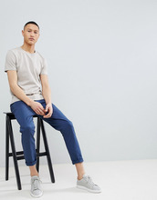 Selected Homme   Хлопковая футболка Selected Homme - Серый   Clouty