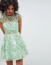 ASOS | Короткое приталенное платье с пайетками и вышивкой ASOS EDITION | Clouty