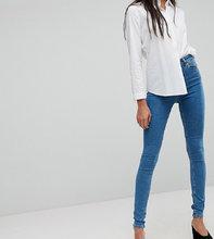 ASOS | Синие джинсы скинни ASOS DESIGN Tall Ridley - Синий | Clouty