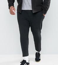ASOS   Черные укороченные брюки скинни ASOS PLUS - Черный   Clouty