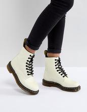 Dr. Martens | Ботинки с блестками Dr Martens Pascal - Белый | Clouty