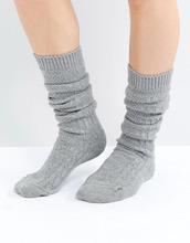 ASOS | Длинные носки ASOS DESIGN - Серый | Clouty