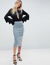 ASOS | Длинная юбка-карандаш ASOS - Серый | Clouty