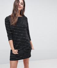 Vila | Трикотажное платье в полоску Vila - Мульти | Clouty