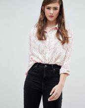 ASOS | Oversize-рубашка с принтом ASOS DESIGN - Мульти | Clouty