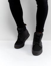 Dr. Martens | Ботинки с 8 парами люверсов Dr.Martens Lite Rigal - Черный | Clouty