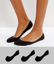 ASOS | 3 пары носков ASOS DESIGN - Черный | Clouty