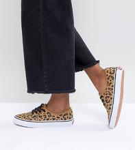 VANS | Кеды унисекс с леопардовым принтом Vans Authentic - Мульти | Clouty